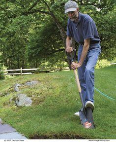 Super Easy Sod Removal Garden Diy Pinterest Gardens