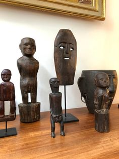 View this item and discover similar for sale at - Wooden sculpture or carving of fertility figure from Sumba Island, Indonesia, (circa - The island tribal creators of works like this one Wood Sculpture, Sculptures, Indonesian Art, Fertility, Deities, Folk Art, Hand Carved, Objects, African