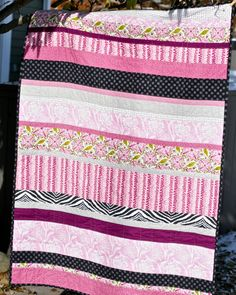 The Quilt--pretty fabric combinations