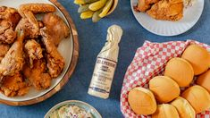The most-tender and flavorful fried chicken EVER comes down to two secret ingredients! 😍🍗  (This summertime dinner is inspired by Guy's Grocery Games!) Sponsored by Lea & Perrins. #ad Fried Chicken Dinner, Slow Cooker Recipes, Cooking Recipes, Summer Recipes, Easy Recipes, Kitchen Recipes, Food Network Recipes, Chicken Recipes, Easy Meals
