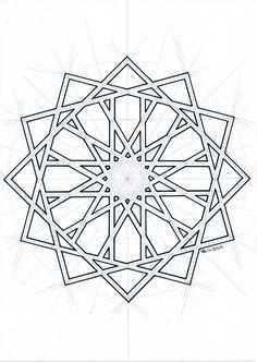 #islamicdesign #islamicpattern #islamicart #arabianart #geometry #symmetry #handmade #mathart #regolo54 #escher #star
