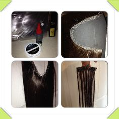 Back lace diy halo flip in hair extensions easiest way to make diy halo extensions much cheaper and easy to do wont damage your hair pmusecretfo Image collections