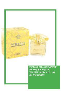 4fa11044778d Versace Yellow Diamond by Versace Eau De Toilette Spray 3 oz   90 ml for  Women