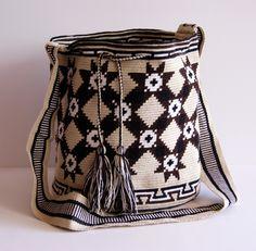 Wayuu One Tread Large Bag by CaritoCaró!