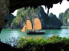 Halong Bay, Vietnam - BEAUTIFUL!