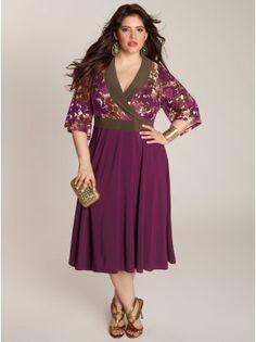 Callie Plus Size Dress by IGIGI