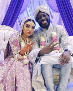 'When biryani meets joloff': Interracial couple get a lot of love online Interracial Family, Interracial Marriage, Interracial Wedding, Couple Musulman, White Couple, Mixed Couples, Black Couples, Cute Muslim Couples, Cute Couples Goals