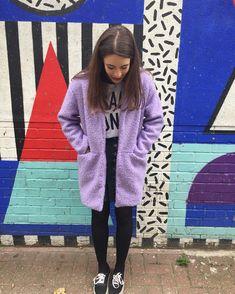 schnittchen patterns (@schnittchenpatterns) • Instagram-Fotos und -Videos We Wear, How To Wear, Coatigan, Schneider, Lilac, Polka Dots, Sewing, Instagram, Videos