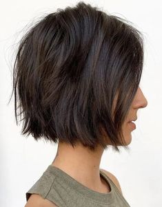 Super Cute Blunt Textured Short Bob Haircut In 2019 | Stylezco...