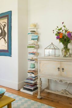 Houzz Tour: Caretaking and Compact Living on a Historic Estate   farmhouse living room by Lisa Teague Design Studios   Houzz