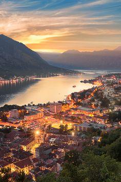Kotor Bay, Kotor, Montenegro. ♡