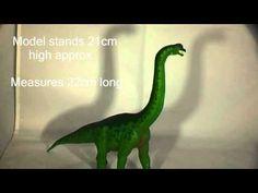 2013 Wild Safari Dinos Brachiosaurus Dinosaur Model Reviewed | @Everything Dinosaur