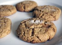 Tahini Cookies: Dairy-Free Tahini Cookies