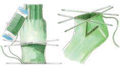 Sokkeskolen - Lær at strikke sokker - Hendes Verden - ALT.dk Knitting Charts, Baby Knitting Patterns, Knitting Stitches, Knitting Socks, Knitting Tutorials, Knit Socks, Crochet Baby, Knit Crochet, Knitting For Kids
