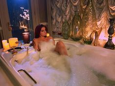 The gratuitous bathtub shot