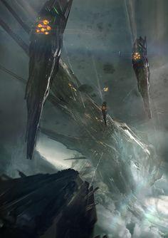 Goliath , Adam Burn on ArtStation at https://www.artstation.com/artwork/0zwaw