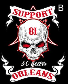 SUPPORT PARTY HELLS ANGELS ORLEANS, SUPPORT PARTY ORLEANS