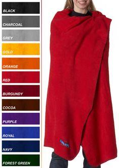 UltraClub Iceberg Embroidered Fleece Blanket $17.91