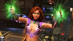Starfire 'is gonna be a hot one' in Injustice Revealed a few weeks ago as the last of the initial batch of new character additions to… Injustice Game, Injustice 2 Characters, Dc Comics Characters, Female Characters, Marvel Women, Marvel Dc, Star Fire Cosplay, Superman Story, Gamer's Guide