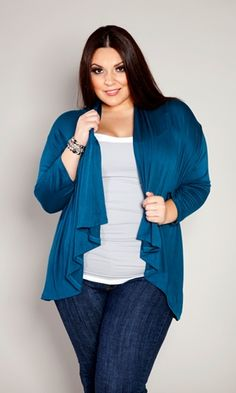 Another essential basic for your wardrobe. Our Open Cardigan!