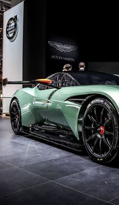Aston Martin is known around the world as one of the premier luxury car makers. The Aston Martin Vulcan is a track-only supercar Luxury Sports Cars, Best Luxury Cars, Sport Cars, Carros Aston Martin, Aston Martin Lagonda, Aston Martin Cars, Mazda, Most Expensive Luxury Cars, Dream Cars