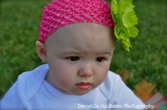 love the colors of the headband and flower