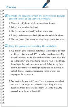 Grade 5 Grammar Lesson 2 Subject-verb agreement