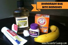 Homemade Bug Bite Remedies