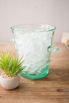 Glacier Glass- Ice Bucket