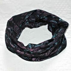 SNOOD in Multi Mauve LIBERTY JERSEY FABRIC  £16.50