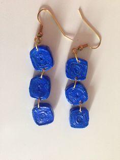 Paper earrings by Ninfa Prma