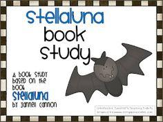 Stellaluna book study and bat unit  Tunstall's Teaching Tidbits