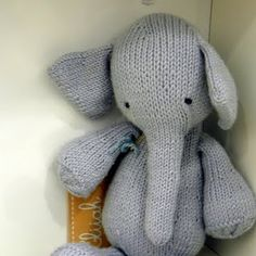 Knit elephant ear hat Elephant Pinterest Elephant ears, Ear hats and El...