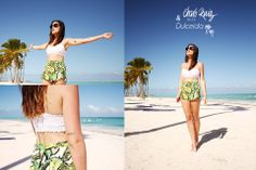 Spotted! Gorgeous Dulceida blogger in idicilic Puntacana with our crop top Ref. 43100 Love it! Shop the top: http://www.charoruiz.com/es/shop/dolcevita/bandeau-2/