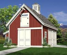 Woodberry Pole-Barn and Garage Plans