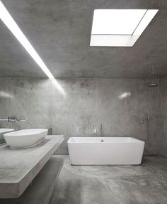 imagens de casas de banho em micro cimento - Pesquisa Google
