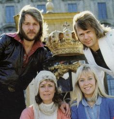 ABBA in Stockholm 1974. Abba Mania, The Doobie Brothers, Anna, Two Year Olds, Kinds Of Music, Greatest Hits, My Favorite Music, Pop Group, Stockholm