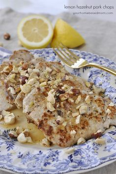 Lemon Hazelnut Pork