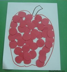 Back to School Shape Craft- Circles