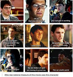 Best part of the whole of these quotes are from National Treasure meaning Riley was the best part of both movies. Tv Quotes, Movie Quotes, Love Movie, Movie Tv, Funny Movie Scenes, Movies Showing, Movies And Tv Shows, Ella Enchanted, Plus Tv