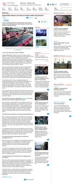 China Dialogue, July 2014