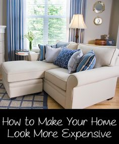 Many people spend lots of money on their homes, but their homes don't quite look as high end and expensive as they desire. Here are a few ways to make your home look more expensive without breaking the bank. Ban the ClutterClutter makes eve...