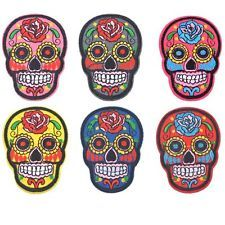 Halloween Skull Embroidered Iron On Sew On Shirt Bag Applique Badge Patch Craft
