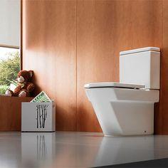 ROCA HALL WC Комплект - моноблок със седалка и капак със забавено падане