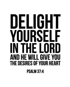 bible verses psalm 374 niv delight yourself in the lord printable fandeluxe Images