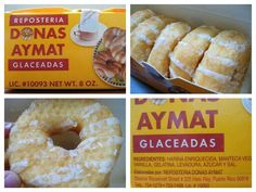 """Omggggg just died... brings me back memories! This are THE donuts.... To those who have never had the joy of tasting the soft, pillowy, sweet delicacy inside this famous Yellow Box in Puerto Rico are missing out for sure. They're """"DONAS AYMAT"""" a 100% Puerto Rican donut usually sold on street lights and also every morning at school."""