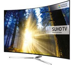 The Samsung Curved Ultra HD Smart LED TV completely redefines the viewing experience with the revolutionary Quantum Dot nano-crystal te. Smart Tv, Curved Led Tv, Tv Plasma, Lg 4k, Tv Samsung, 4k Ultra Hd Tvs, 360 Design, Home Cinemas, Home Entertainment