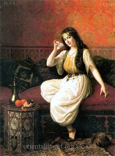 The Cup of Coffee by Marie-Antoinette Izart Dyana Raks www.dyanabellydancer.com.ar