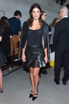 Julia Restoin-Roitfeld - Calvin Klein Collection SS16 Front Row - September 17, 2015