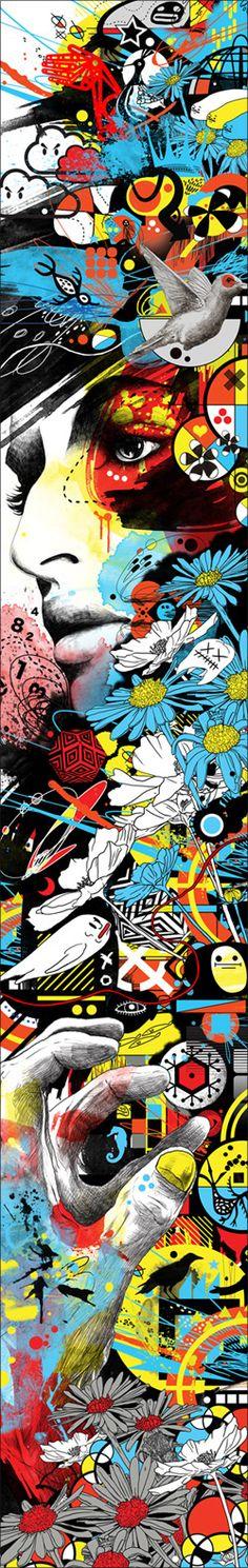 MARUMIYAN(マルミヤン) Graphic Artist / Designer / Illustrator China Art, Art Programs, Japanese Artists, Art Background, Love Art, Art Reference, Illustrators, Art Drawings, Street Art